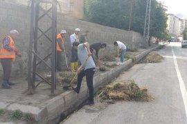 Tatvan'daki kanal ve kanaletlerin temizliği