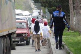Tatvan'da yaya önceliği etkinliği yapıldı