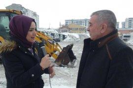 10 bin kamyon kar yerleşim alanı dışına taşındı