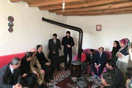 Vali Çağatay, trafik kazasında hayatını kaybeden vatandaşın ailesini ziyaret etti