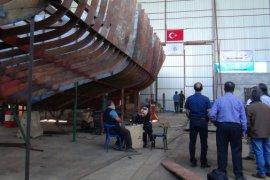 Muzaffer Usta adlı tekne 2020 yılında Van Gölü'ne indirilecek