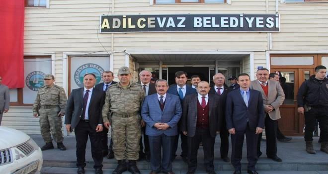 Bitlis Valisi İsmail Ustaoğlu, Adilcevaz ilçesine ziyarette bulundu