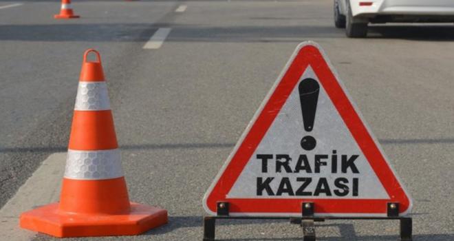 Trafik kazasında bir polis hayatını kaybetti bir polis de yaralandı
