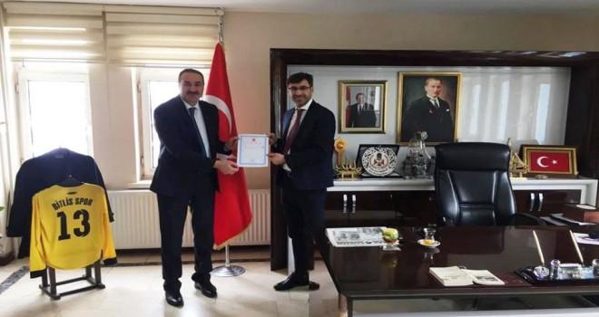 Bitlis Belediyesi'nin 27 milyon lira SGK borcu indirildi