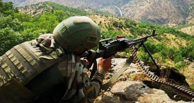 Bitlis'te PKK'lı 2 terörist ölü ele geçirildi