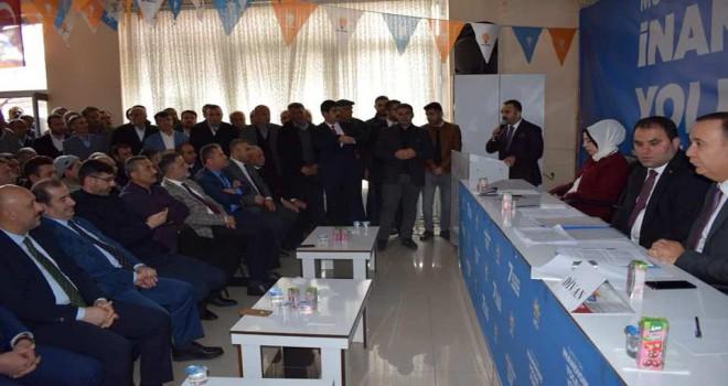 AK Parti 7. Olağan Mutki İlçe Kongresi gerçekleştirildi