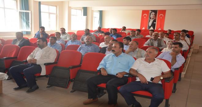 Güroymak'ta servis şoförlerine seminer