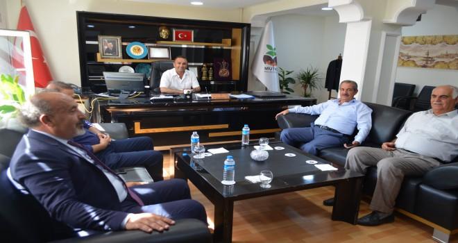 Başkan Gürsoy'dan, Başkan Barlak'a ziyaret