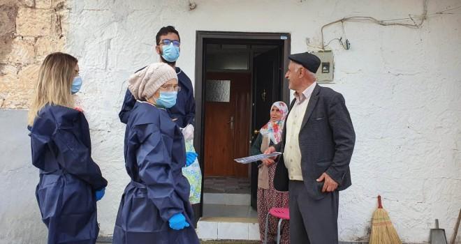 Hasta ve yaşlıların ihtiyaçlarını 'Vefa Destek Grubu' gideriyor