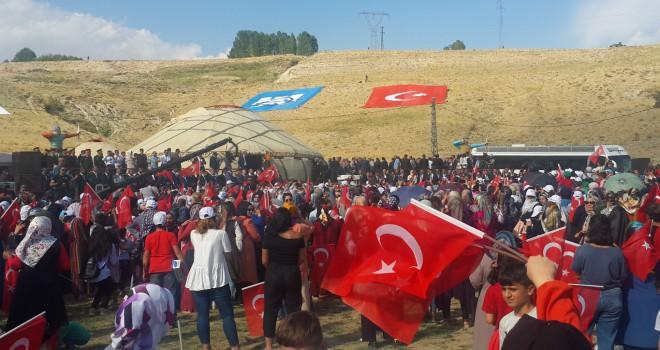 Cumhurbaşkanı ErdoğanAhlat'ta