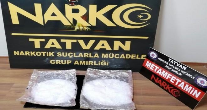 Bitlis'te 972 gram uyuşturucu madde ele geçirildi