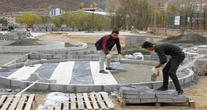 Hizan'a yeni bir park kazandırılıyor