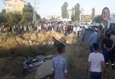 Trafik kazasında 1 asker hayatını kaybetti