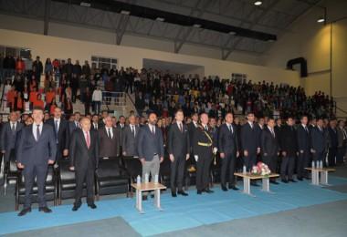 Bitlis'te 29 Ekim Cumhuriyet Bayramı kutlandı