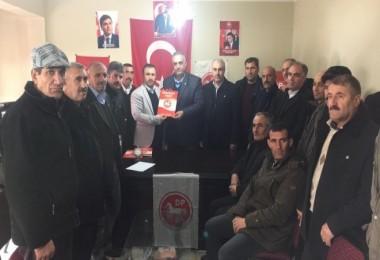 Mehmet Avunç, Gölbaşı için DP'den aday oldu