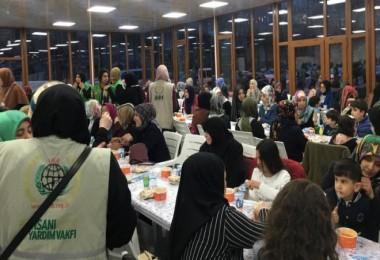 Bitlis İHH'dan yetimler yararına iftar programı