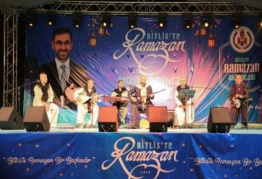 Bitlis'te Ramazan Etkinlikleri Arafane Geceleri ile başladı