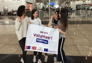 BİPEM Gönüllüleri Portekiz'de