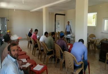 Tatvan'da Ceviz yetiştiriciliği kursu