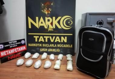 Tatvan'da 17 kilo 462 gram uyuşturucu madde ele geçirildi