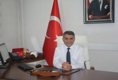 """Kaymakam Özkan'ın """"Cumhuriyet Bayramı"""" mesajı"""