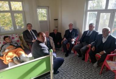 Başkan Gürsoy'dan Barış Pınarı Harekatı gazisine ziyaret