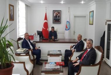 CHP heyeti Kaymakam Özkan'ı ziyaret etti
