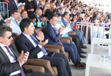 Vali Çağatay, BEÜ'nün mezuniyet törenine katıldı