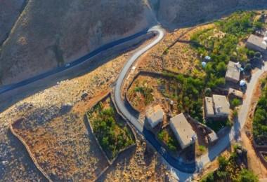 Hizan'daki BSK yol yapım işi tamamlandı