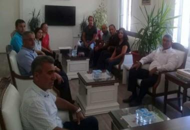 Kardeş ilçe Kumluca'dan Tatvan'a ziyaret