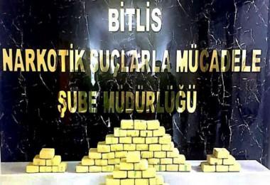 Bitlis'te 91 kilo 900 gram uyuşturucu ele geçirildi