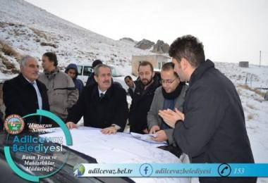 Adilcevaz Belediyesinin su projesi hayatta