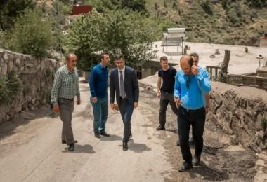 Bitlis'in Belediye Başkanı Tanğlay, durmadan çalışıyor