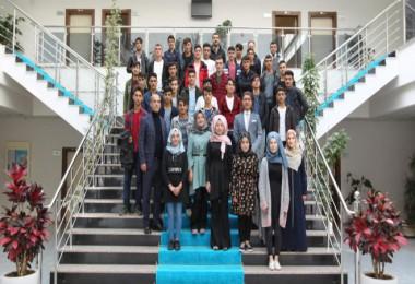 Mutki'deki lise öğrencileri BEÜ'yi gezdi