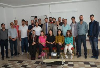 Tatvan'da Proje Eğitimi verildi