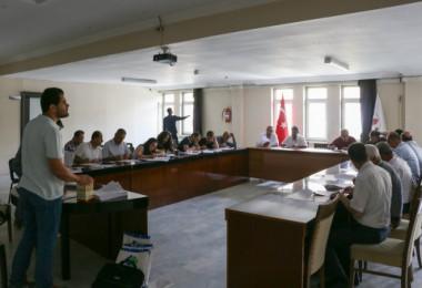 Bitlis Belediyesi personellerine iş güvenliği eğitimi verildi