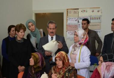Adilcevaz'da kadınlara yönelik açılan kurslara yoğun ilgi