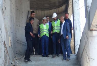 Tatvan'da anahtar teslimi yeni bir cami yapılıyor