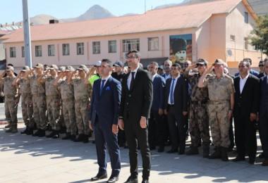 Bitlis'te 19 Eylül Gaziler Günü dolayısıyla tören düzenlendi