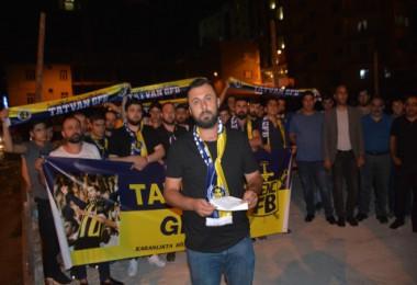 Tatvan Genç Fenerbahçeliler, Emine Bulut cinayetine tepki gösterdi