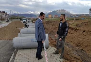 Tatvan'da alt yapı çalışmaları aralıksız sürdürülüyor