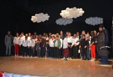 Tatvan'daki özel çocukların 23 Nisan etkinliği