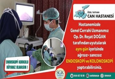 Endoskopi korkulu rüyanız olmasın!