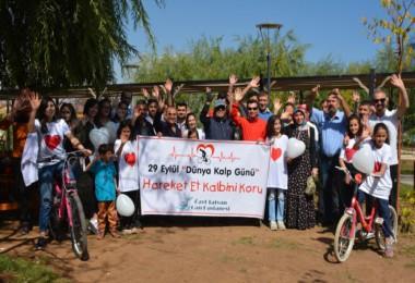 Tatvan'da Dünya Kalp Günü etkinliği düzenlendi