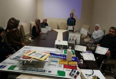 Tatvan Devlet Hastanesi 'Diyabet Okulu' mezunlarını veriyor