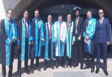 Rektör Yardım 2019 - 2020 Akademik Yılı açılış törenine katıldı