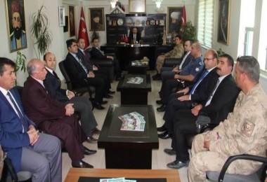 Trabzon Valiliği'ne atanan İsmail Ustaoğlu, veda ziyaretleri gerçekleştirdi.