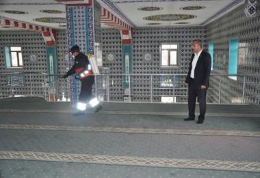 Günkırı Belediyesi'nden dezenfekte çalışması
