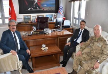 Vali Çağatay, Tatvan Liman Başkanlığı'nı ziyaret etti