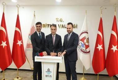 Bitlis'te 3 Boyutlu Tasarım Atölyesi için protokol imzalandı